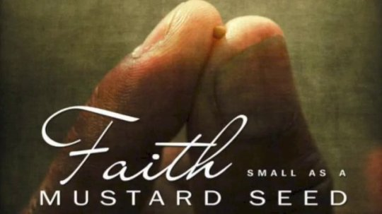 small as a mustard seed